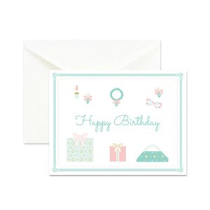 Celebrate Life with Fashion Birthday Card